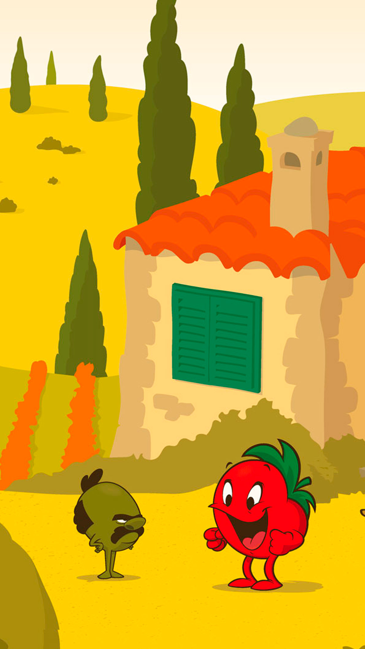 Tomato Story banner mobile