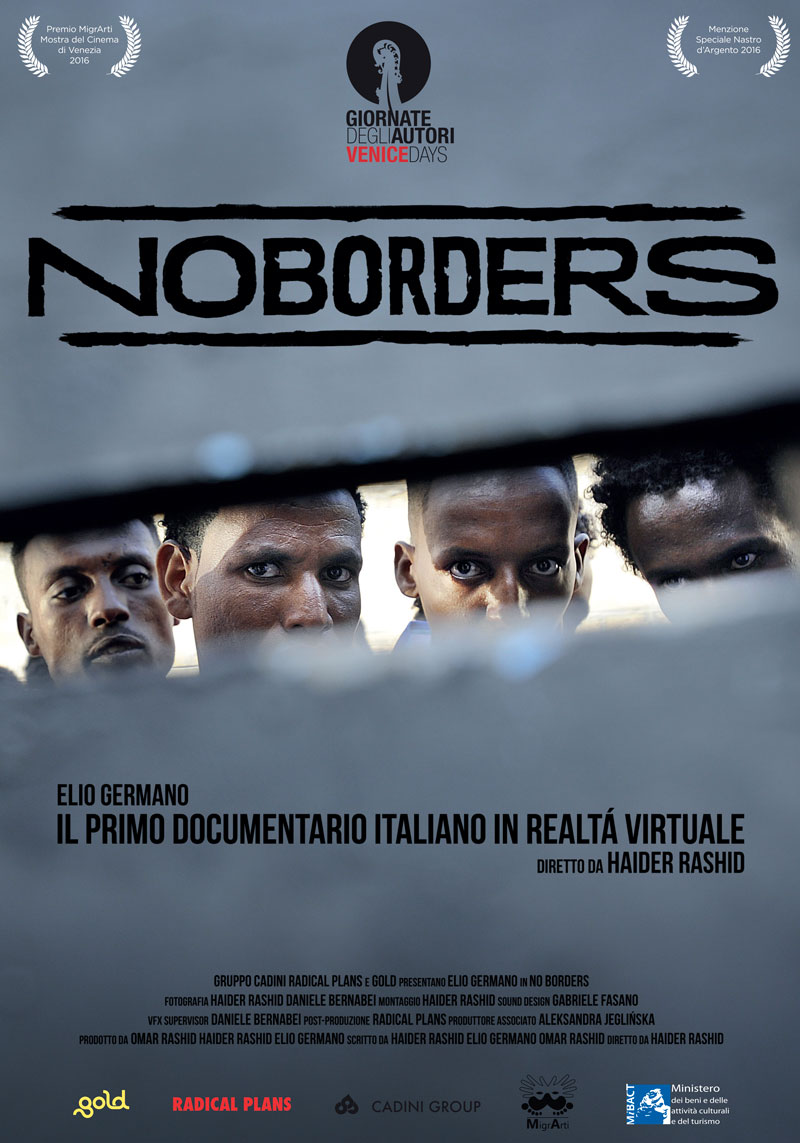 No Borders locandina